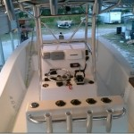 center console fishing boat
